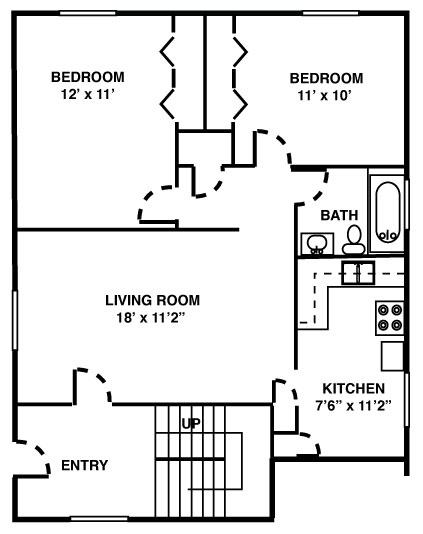 Metropolitan 13: Royal Oak Apartments For Rent | Kaftan - metropolitan-13-floorplan